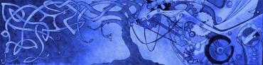 Albero Meccanico Blu